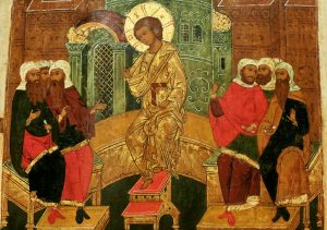 otrok Iisus v hrame_sredn