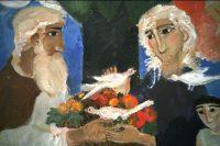 Фрагмент-картины-Елены-Черкасовой.-Адам-и-Ева-снова-в-Раю