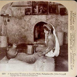 самарянская женщина у колодца Иакова_фото нач 20 века