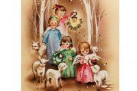 старинная открытка к Рождеству3